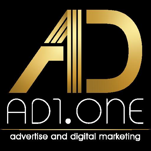 آژانس بین المللی تبلیغات و دیجیتال مارکتینگ AD1.one Logo